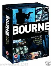 JASON BOURNE COLLECTION QUADRILOGY DVD Box Set All 4 Movie Films Brand New UK