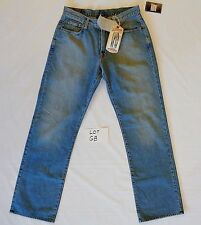 LUCKY BRAND Mens 33 LONG INSEAM WASHED Blue 181 Demin Jeans Pants LOT GB NWT