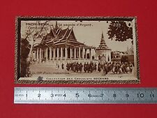 CHROMO SUCHARD 1933 COLONIES INDOCHINE N°239 CAMBODGE PNOM-PENH PAGODE D'ARGENT