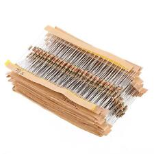 860pcs 43Values 1/4W 0.25W Carbon Film Resistors Assorted Pack Kit Tool Set L4A5