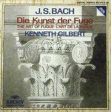 CD J.S. BACH - die kunst der fuge, Kenneth Gilbert