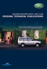 LAND ROVER DISCOVERY 1 TECHNICAL PUBLICATIONS 1989-1999 ltp3004