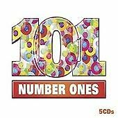 101 Number One Songs (5 CD Box Set) John Lennon, David Bowie etc(Party Music)
