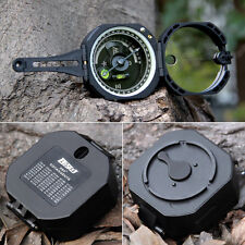 US Pocket Compass Transit Army Geological for Outdoor Sports Camping & Hiking