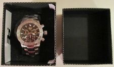 $1,400. MSRP 32 Degrees Polar Steel Chronograph Model 1155M new men's watch