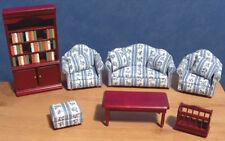 1/12, dolls house miniature Luxury Lounge / Living Room Furniture Set BN LGW