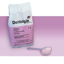 ALGINATO DENTALGIN 450 gr. FRAGUDO NORMAL. SABOR FRESA. DENTAL ALGINATE.