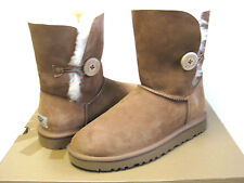 Ugg Bailey Button Chestnut Women Boots US7/UK5.5/EU38/JP24