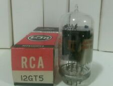 RCA 12GT5 Vacuum Tube O Getter  Hickok Tested 7250