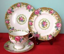 Paragon Tapestry Rose Fine Bone China Four Piece Set 1940s