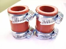 Yamaha Banshee Exhaust Clamps Red Fits All Years  Factory DG Toomey FMF PC