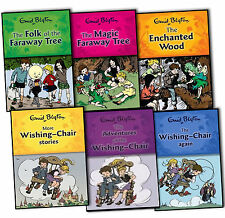 Enid Blyton Wishing Chair and Magic Faraway Tree Series 6 Children Books