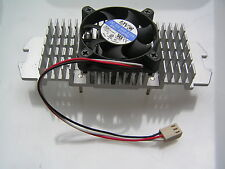 AVC Fan 12VDC 0.15A on Aluminium Heat Sink for P111 Processor 50x50x10mm OL0343
