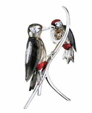 Swarovski Woodpeckers, Paradise Birds Nature Crystal Authentic MIB 957562