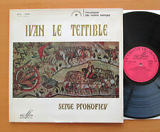 Prokofiev Ivan The Terrible Film Music Stassevitch Le Chant Du Monde LDX 78390