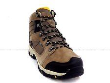 Hi Tec Mens Borah Peak I WP Hiking Boot Brown And Taupe Size 10