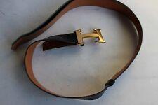 HERMES ceinture vintage a recoudre accessoires mode  (33084)