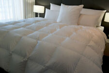 SUPER KING QUILT / DOONA BAFFLE BOXED 50% WHITE EUROPEAN DUCK DOWN 4 BLANKET