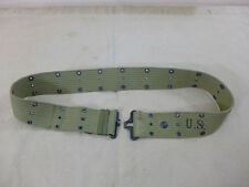 NASCO 1942 Original US Army WW2 Koppel pistol belt m36 Lochkoppel #C9 MINT