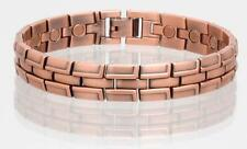 NEW COPPER MAGNETIC LINK BRACELET mens womens STYLE#LBR  jewelry health Energy