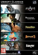 Ubisoft Classics Assassin's Creed, Beyond Good & Evil, Far Cry,Rayman 3 for PC