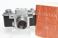 Contax IIIa camera w/Zeiss Opton 50mm f 2 lens