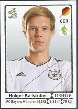 PANINI EURO 2012- #232-DEUTSCHLAND-GERMANY-BAYERN MUNICH-HOLGER BADSTUBER