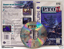 P.T.O. II: Pacific Theater of Operations (Saturn) CIB!!
