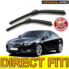 Quality Front Wiper Blades Vauxhall Insignia Wipers Pair Direct Fit Flat 2008