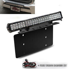 "For HONDA Odyssey CRV Civic 20"" LED Light Bar Front License Plate Mount Bracket"
