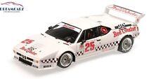 Minichamps 180812925 1/18 BMW M1 Procar #25 GTO Class Winner LA Times GP 1981