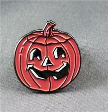 Metal Enamel Pin Badge Brooch Pumpkin Halloween Squash Pumpkin Face