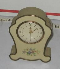vintage Semca shelf clock Swiss Made 7 jewels not working