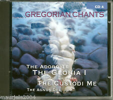 Gregorian Chants vol.4 (1999) CD NUOVO The Monastic Choir of Abbey of Saint Pier