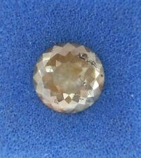 NATURAL LOOSE DIAMOND ROUND ROSE CUT GRAY RED COLOR 0.73TCW FOR JEWELS
