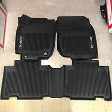 2013-2017 RAV4 FLOOR  LINER MAT RUBBER ALL WEATHER TOYOTA OEM PT908-42165-20