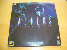 """ALIENS"" Horror Film SPECIAL EDITION- 2x LASER DISC 12""- 1986 ENCORE USA EE1089"