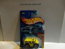 2004 Hot Wheels #23 Yellow Rockster  w/Bling Wheels