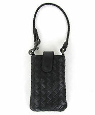 $440 NEW BOTTEGA VENETA Leather Card Holder Cell Phone Case 172765 v001n 1000