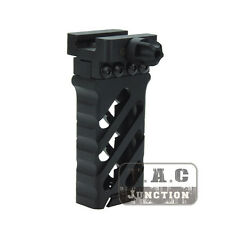 Tactical Foregrip QD Forward Vertical Grip Aluminum Ultralight Rail Grip - BK