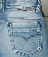 100%AUTHENTIC Men DIESEL SAFADO Art 71J Slim STRAIGHT LEG DISTRESS Jeans 28 x 28