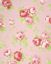 Tanya Whelan Cottage Shabby Chic Lulu Roses Cotton Fabric Lulu PWTW092-Pink BTY