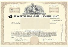 EASTERN AIRLINES INC.....SPECIMEN PREFERRED STOCK CERTIFICATE