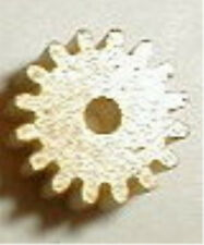 16 Tooth Brass Pinion Gear with  48 Pitch for .078 shaft  Motor NOS 1960's MEDIU