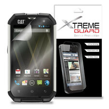 XtremeGuard LCD Screen Protector Shield For Caterpillar CAT B15 (Ultra Clear)
