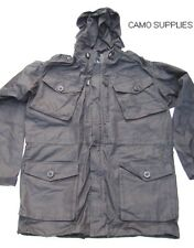 "British Forces Black Ripstop Field Smock / Hooded Jacket Size 190/96 (36""chest)"
