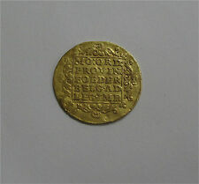 1767 Netherlands Holland Gold Ducat coin 18th century  KM #12.3