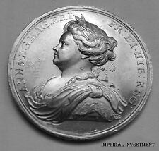 ENGLAND SILVER MEDAL - QUEEN ANNE - PEACE OF UTRECHT - 1713  # 361