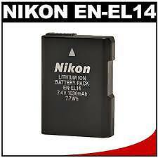 Nikon EN-EL14 Rechargeable Li-ion Battery ,warranty , bill FOR Nikon DSLR Camera