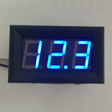 4.5-30V MiNi Digital Blue LED Car Voltmeter Voltage Volt Panel Meter Gauge